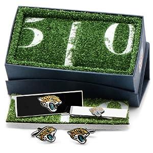 Jacksonville Jaguars 3-Piece Gift Set by Cufflinks