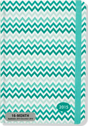 2015 Chevron Weekly Planner (16-Month Engagement Calendar, Diary)