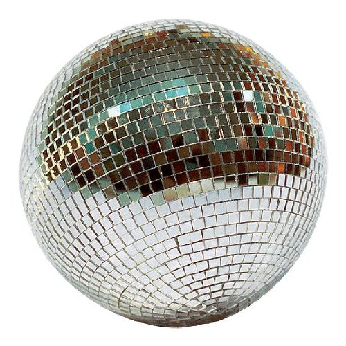 Revolving Disco Mirror Ball w/ Ceiling Mount