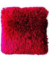 Couleur Montagne 3006243 Coussin Décor Polyester Rouge 40 x 40 x 40 cm