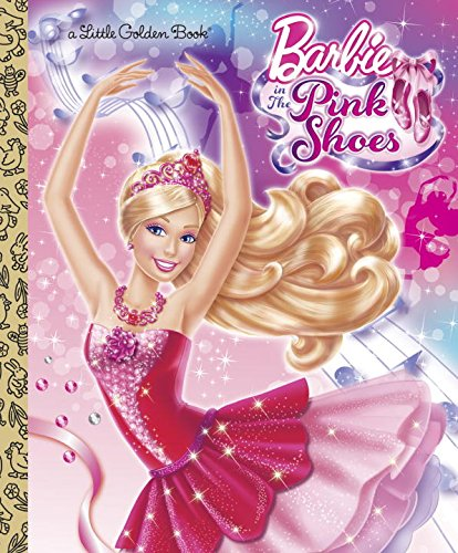 Barbie in the Pink Shoes Little Golden Book (Barbie) (Barbie Pink Shoes compare prices)