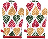 Suam Set of 2 Green Oven Gloves