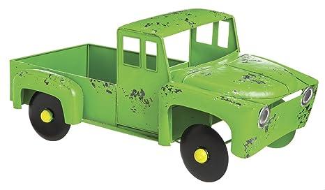 Artesanos de cabo verde rústico camión Metal plantador