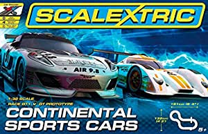 Scalextric 1:32 Scale Continental Sports Cars Race Set