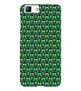 EPICCASE green eyes Mobile Back Case Cover For Vivo X5 (Designer Case)