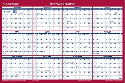 Year Calendar Buy : At a glance yearly online shopping office depot