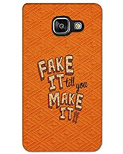 MobileGabbar Samsung Galaxy A7(2016) Back Cover Printed Designer Hard Case