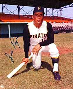Autographed Hand Signed 8x10 Photo Jose Pagan - Pittsburgh Pirates by Hall of Fame Memorabilia