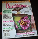 img - for PaintWorks - The Discovery Magazine for Decorative Painters August 2009 book / textbook / text book