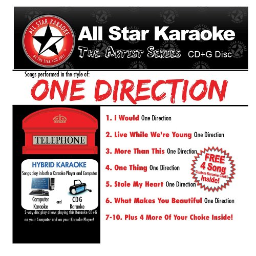All Star Karaoke One Direction Volume 1 (ASK-611) (Karaoke Cds One Direction compare prices)