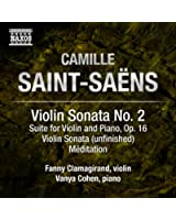 Saint-Saëns: Music for Violin and Piano, Vol. 2