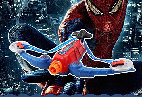 Amazing Ultimate Spiderman weapon Power Web Strike Crossbow Toy spider man Dart Blaster Soft Bullet Arrow Bow shooter Brinquedo