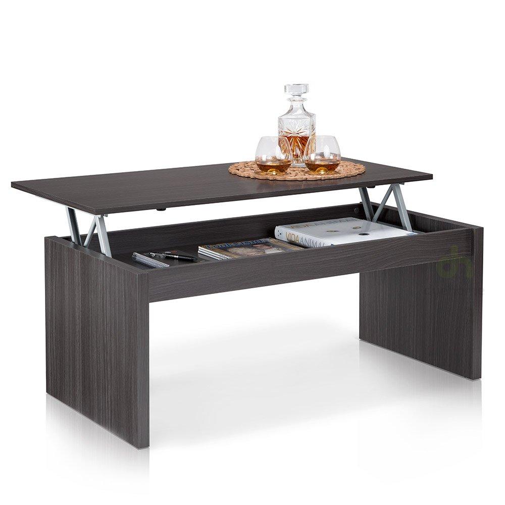 Mesa de centro elevable para comedor