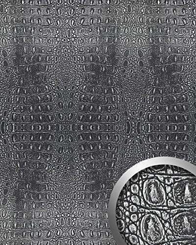 wallface-13521-croco-wall-panel-textured-3d-interior-decor-luxury-wallcovering-self-adhesive-black-s