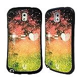 Head Case Designs Jesus Is Love ネブラ・インシグニア ハイブリッドケース Samsung Galaxy Note 3
