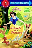 img - for Friends for a Princess (Disney Princess) (Step into Reading) book / textbook / text book