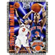 "Stephon Marbury #3 New York Knicks NBA Woven Tapestry Throw Blanket (48x60"")"""