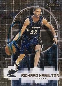 Richard Hamilton Autographed Hand Signed Basketball Card (Washington Wizards) 2000...