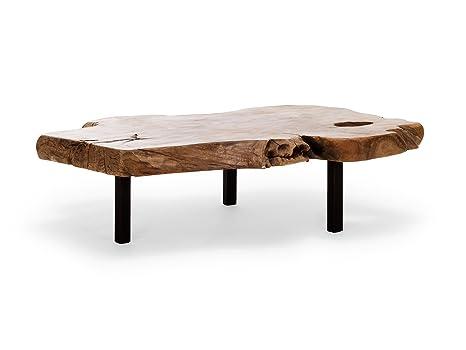 Massivum 10019432 Couchtisch Tree Holz, natur, 80 x 110 x 32 cm