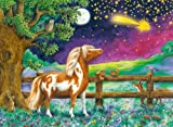 Ravensburger 13636 - Pony Peppermint - Sternschnuppennacht - 100 Teile XXL Glitzer-Puzzle