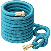 2016 NEW Greenbest 50' Expanding Garden Hose,ultimate Expanding Garden Hose, Solid Brass Connector Fittings...