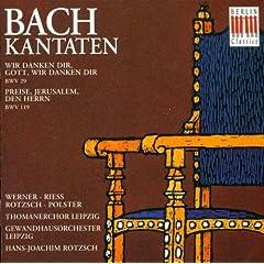 Preise, Jerusalem, den Herrn, BWV 119: Recitative: Zuletz! Da du uns, Herr (Alto)