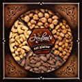 Jaybee's Nuts Gift Tray - Great Holiday, Corporate, Birthday Gift, or as Everyday Snack - Cashews, Smoked Almonds, Toffee & Honey Roasted Peanuts, Vegetarian Friendly and Kosher by star snacks