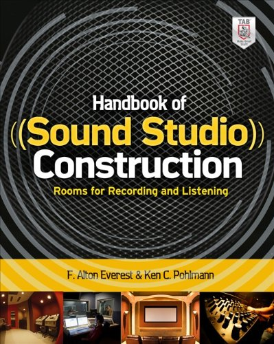 Handbook Of Sound Studio Construction: Rooms For Recording And Listening front-152165