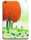New High Quality Fashion Colorful Tree Abstract Oil Painting Design Phone Cases For iPadmini No.2