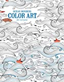 img - for Ocean Wonders | Color Art for Everyone - Leisure Arts (6703) book / textbook / text book