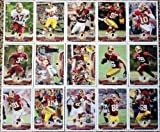 2013 Topps Football Washington Redskins Team Set In a Protective Case - 15 cards including Robert Griffin III (2), Garcon, Orakpo, Kerrigan, Morris, Jawan Jamison RC, Davis, Hankerson, Moss, Fletcher, Amerson RC, Rambo RC, Reed RC, and a Team Leader Card. at Amazon.com