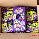 Cadbury Freddo Lover Easter Treat Box - Freddo Faces Egg, Dairy Milk Freddo Bars and Caramel Bars - By Moreton Gifts