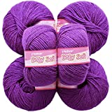Vardhman Acrylic Knitting Wool, Pack Of 6 (Falsa) (Pack Of 8)