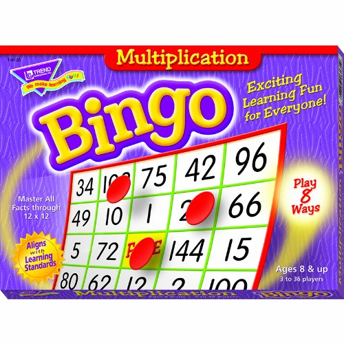 Buy Discount Multiplication Bingo Game