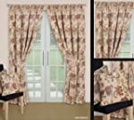 Jacobean Tapestry Floral Pencil Pleat...