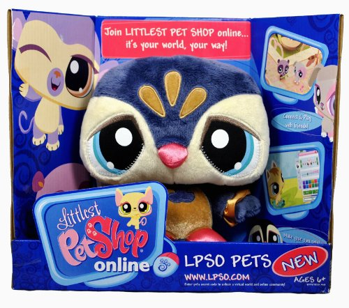 Buy Low Price Hasbro Littlest Pet Shop Online LPSO Pets Series 7 Inch Tall Plush Figure with Code to Unlock the Virtual World and Online Community – PENGUIN (B004L5YXD0)