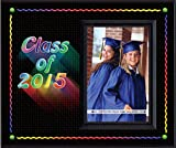Graduation Class of 2015 Rainbow - Picture Frame Gift