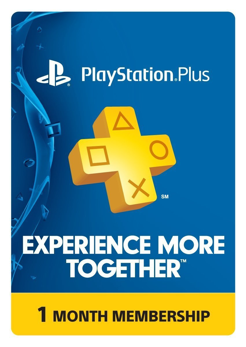 PlayStation Plus 1 Month Membership - PS3 / PS4 / PS Vita (Digital Code)