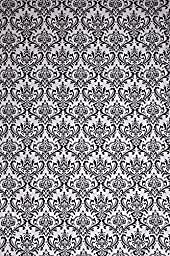 Studiohut 9\' X 12\' Gray/Black Damask Cloth Photo Video Backdrop/Background
