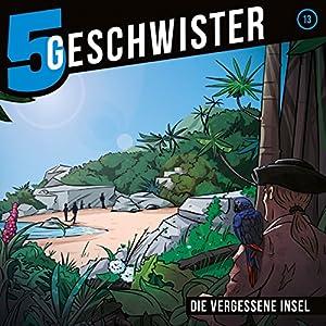 Die vergessene Insel (5 Geschwister 13) Hörspiel