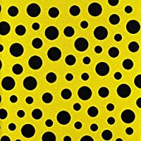 Fintie Apple iPad Air Case - 360 Degree Rotating Stand Case Cover with Auto Sleep / Wake Feature for iPad Air (iPad 5th Generation) 2013 Model, Polka Dot Black/Yellow from Fintie