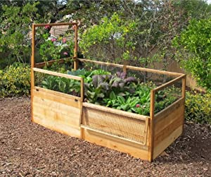Amazon Com Gardens To Gro 3 X 6 Ft Raised Vegetable
