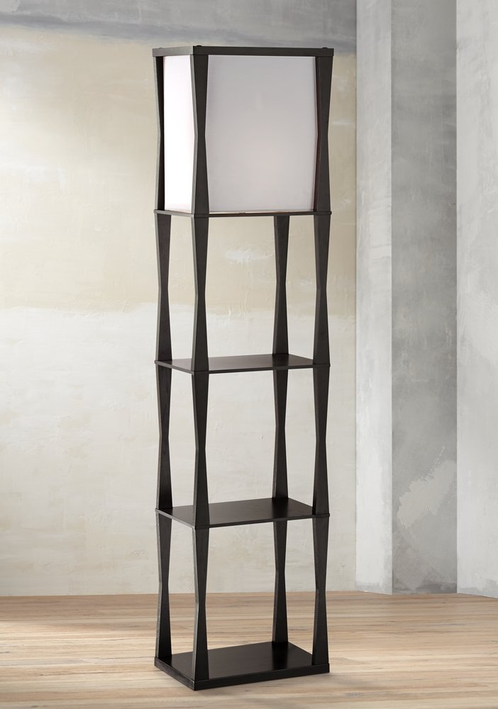 Haiku Etagere Floor Lamp