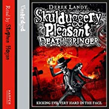 Death Bringer: Skulduggery Pleasant, Book 6 Audiobook by Derek Landy Narrated by Stephen Hogan