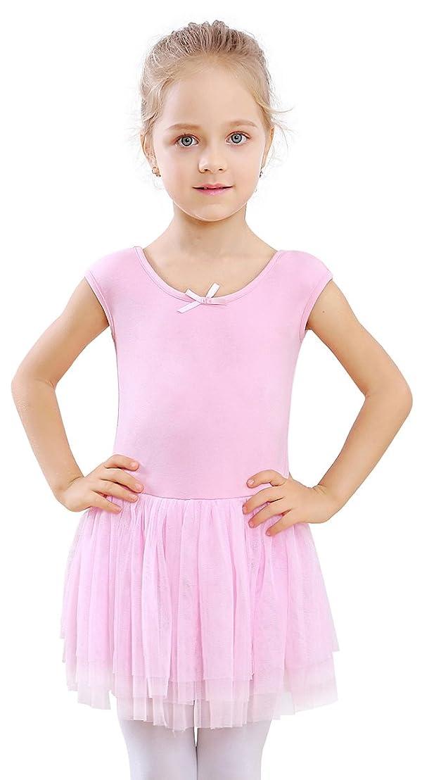 70b237908 STELLE Toddler Girls Tank Tutu Dress Leotard for Dance