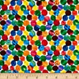 The Very Hungry Caterpillar Abstract Dots Multi Fabric
