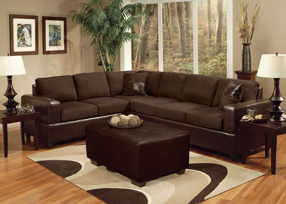 Madrid Set Sectional with 2 Pillows