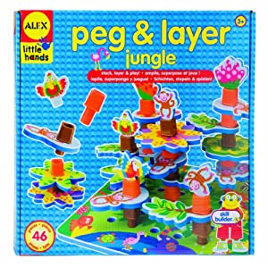 Amazon.com: Alex Peg and Layer Jungle: Toys & Games