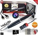 FabQuality Hidden Camera Spy Pen 1080...