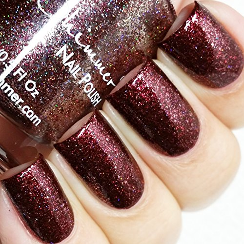 Garnet Nail Polish - 0.5 oz Full Sized Bottle (Maroon Colored Nail Polish compare prices)